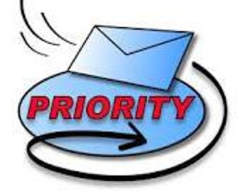 U.S. Priority mail upgrade