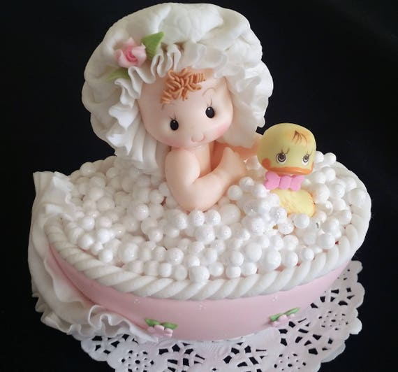 Twin Baby Shower Cake Toppers: Baby Shower Cake Topper Twins Baby Shower Girl Baby Shower