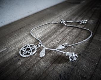Bracelet silver Tiny Rose 666 666