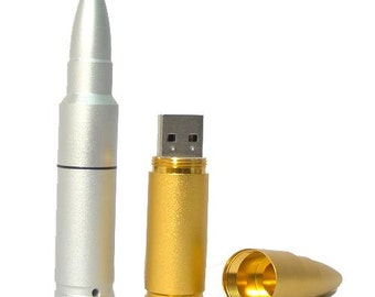 Bullet shape USB flash drive