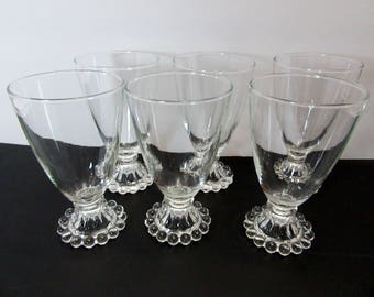 Boopie glasses, bubble Water glasses, Bar ware glasses, bubble glasses