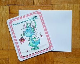 You Make My Life Magical Card