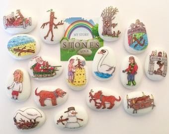 Stick Man, Stickman, Story Stones, Set, Story Sack, Imaginative Play, Gift Ideas for kids, Preschooler, Teacher Resources