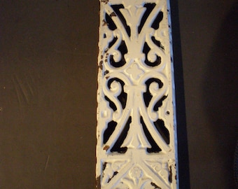 Vintage Cast Iron Wall Shelf Brackets - Set Of Two