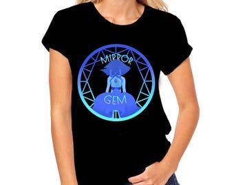 Clearance Steven Universe Shirt Mirror Gem Steven Universe T-Shirt - Steven Universe Mirror Gem Inksterinc Steven Universe