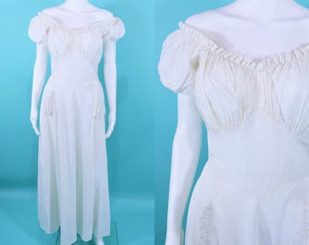 """1930s evening dress 
