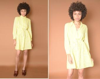 Vintage Yellow Imagnin Dress