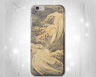 Japan Art Obi With Stylized Waves Case iPhone X 8 8 Plus 7 6 5 SE Samsung Galaxy S8 S8+ S7 Edge S6 S5 Note J7 J3 A5 Asus Google Pixel HTC
