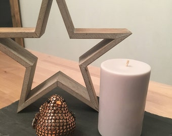 Cylindrical candle