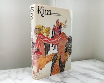 Kim by Rudyard Kipling (Vintage 1966 Hardcover)