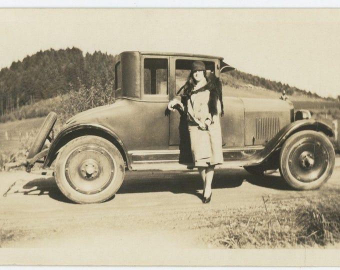 Vintage Snapshot Photo: Motor, 1920s [82649]