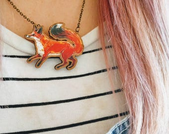 Mr Fox Necklace