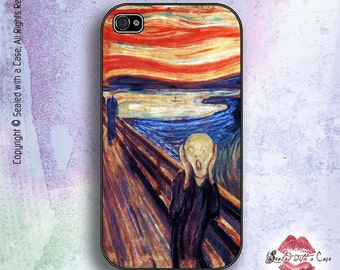 The Scream - Painting by Edvard Munch - iPhone 4/4S 5/5S/5C/6/6+ and now iPhone 7 cases!! And Samsung Galaxy S3/S4/S5/S6/S7