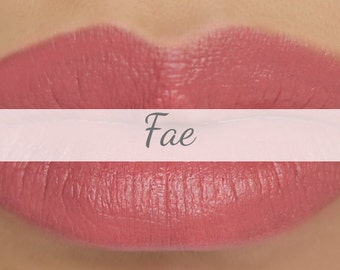 "Sample Vegan Lip & Cheek Cream - ""Fae"" (light peach lipstick / cream blush)"