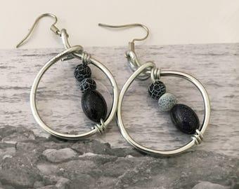 Hoop Earrings Elegant!!! Gift for You