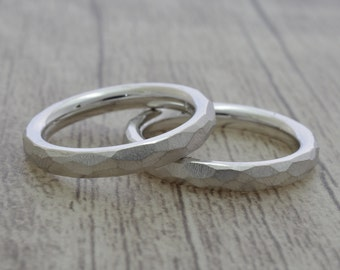 Wedding rings, wedding bands, friendship ring, coils