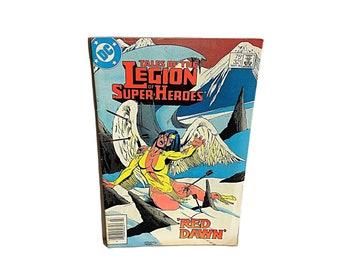Legion Comic, Red Dawn Comic 321, Legion of Super Heroes, Comics, Vintage Comic, Invincible Ironman
