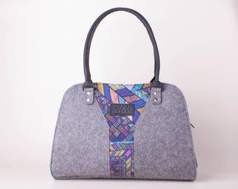 Handbag Shoulder bag Purse Gift for her Gift for mom Messenger bag Women bag Tote bag Felt bag Diaper bag Bags and purses Felted purse