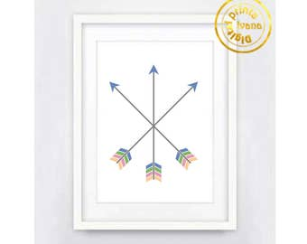 Printable art Digital Prints Home decor arrows