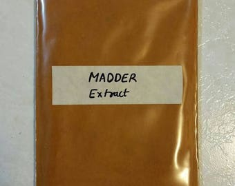 Madder Root Organic Extract - Indian Madder Rubia cordifolia 100 gram