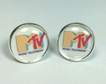 Retro MTV Earrings 1990s Jewelry Earrings Retro TV Shows
