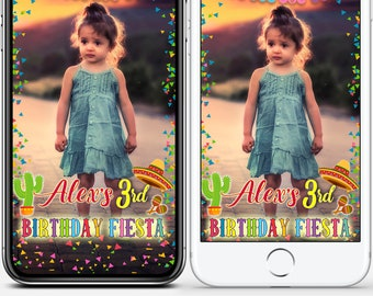 LIMITED TIME! Happy Birthday Geofilter Fiesta Baby shower Snapchat first birthday filter Mexican snap,Cinco De Mayo geofilter,Baptism #WBs13
