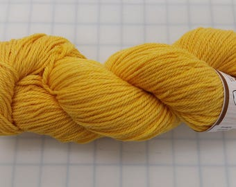 Shepherd's Wool - Worsted Spun Fine Wool - color #101016 Buttercup