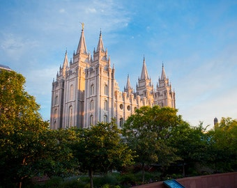 5-Pack - Digital Download Photos of Salt Lake Temple