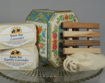 Vintage Tin Soap Gift, Mothers Day Gift, Hostess Gift, Teacher Gift, Housewarming gift, Thank You Gift, Hostess Gift