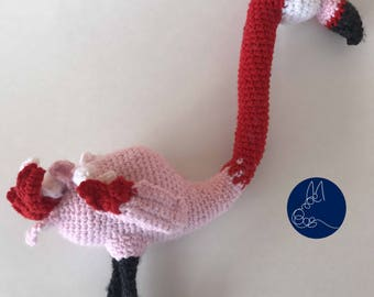 Flamingo - Amigurumi Crochet Pattern