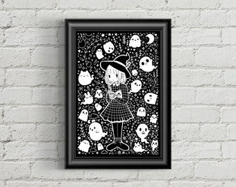 Aesthetic Witch Print