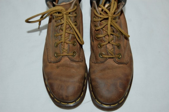Airwair Brown England UK Boots Women 3 US Leather 5 in Martens Dr Made U70YT7R