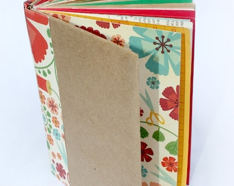 Sew it Seams - Paperback Recycled Art Journal