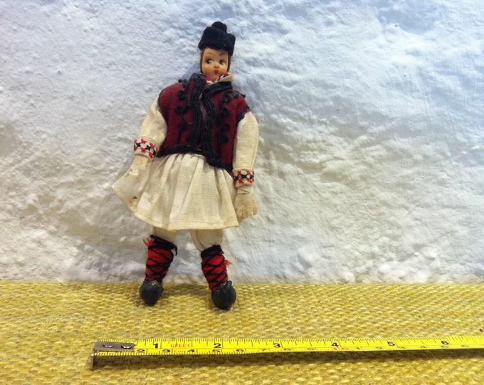 vintage rag doll dollhouse accessoires