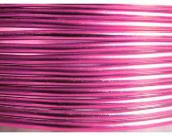 Pink wire aluminum 2mm coil 6 m