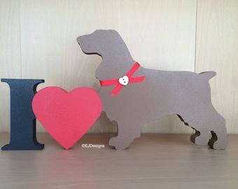 Spaniel Plaque, dog gift