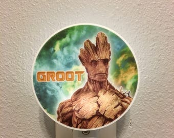 night light - Groot Guardians of the Galaxy
