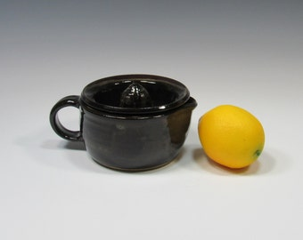 Citrus Juicer - Ceramic Lemon Reamer - Pottery Citrus Juicer - Strainer - Creamer - Small Pitcher - Food Prep Accessory - Orange Juicer