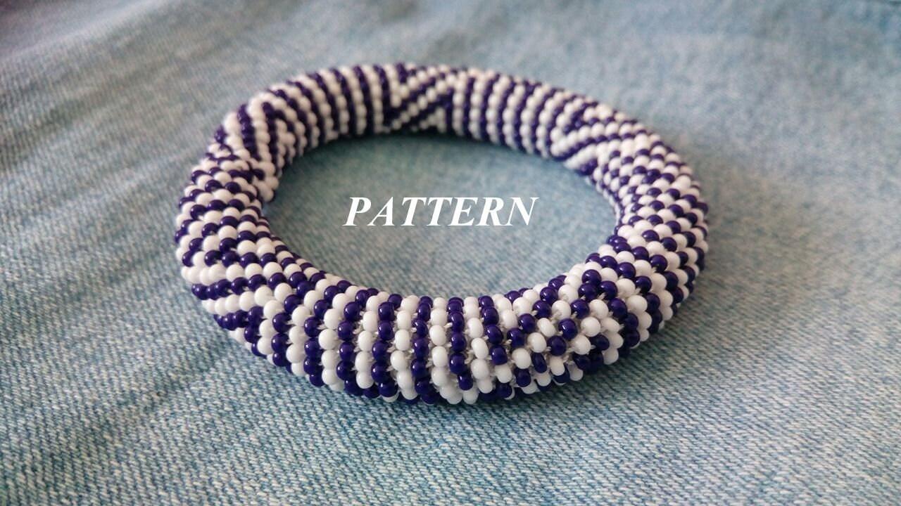 Crochet Pattern, Bracelet Pattern, Instant Download, Seed Beaded ...