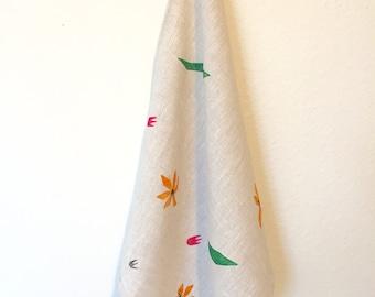 Spring Fling Tea Towel