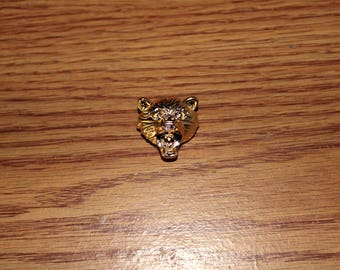Bear Lapel Pin - 18K Gold (Limited Edition)