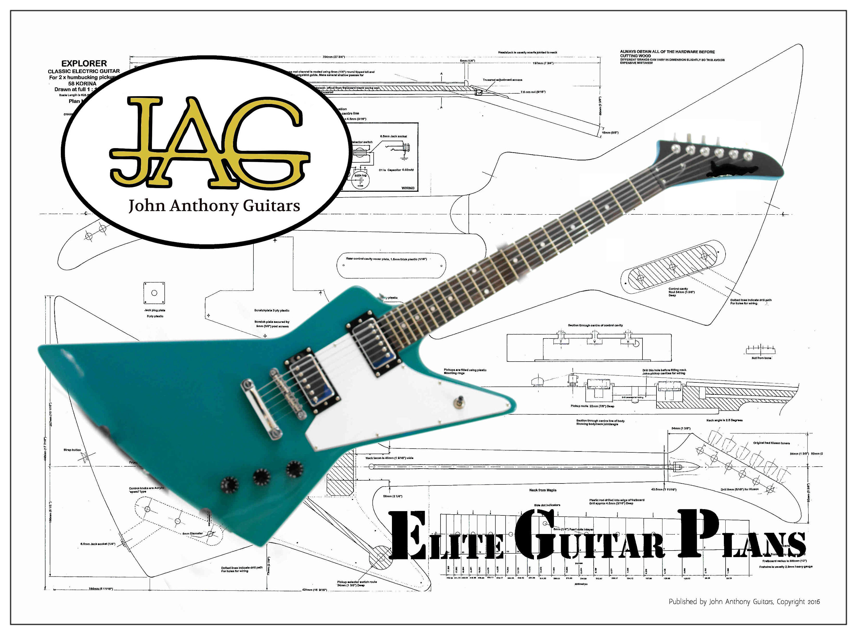 Guitar Wiring 2h Simple Diagram Shematics Gibson Diagrams Trusted Yamaha Bass Flying V
