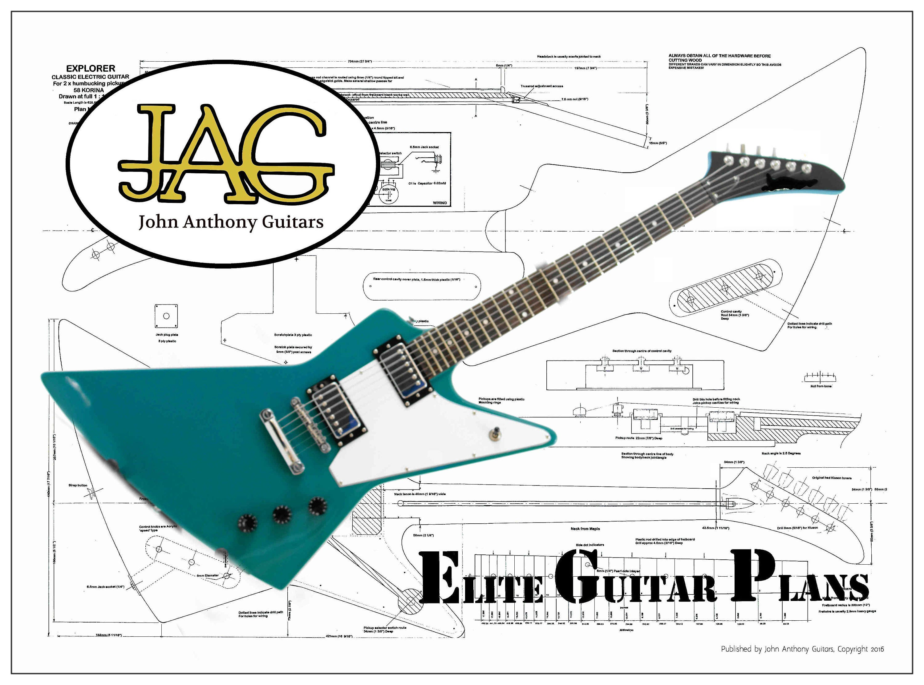 Wiring Diagram For Gibson Flying V Guitar Library Explorer Diagrams Korina Pickguard Fancy Dimarzio
