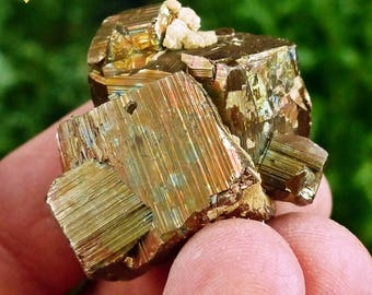 Amazing Pyrite  from Bulgaria, Crystal, Mineral, Natural Crystal