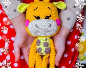 Crochet pattern Giraffe_rattle