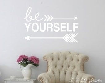 Teen Wall Decals Etsy - Wall decals quotes for teenagers