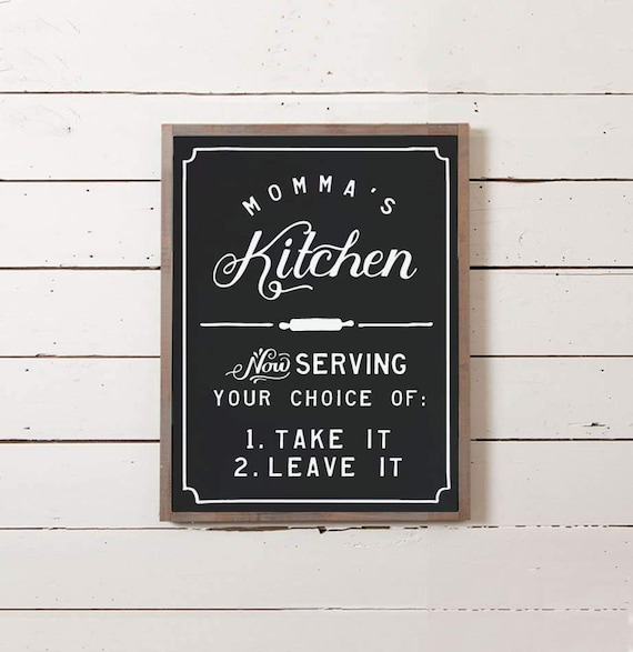 Mommas Kitchen: Momma's Kitchen Sign Southern Decor Southern Saying