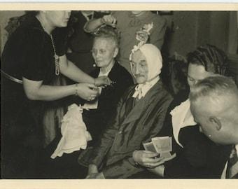 Vintage Snapshot Photo: Ritual, 1950 [85670]