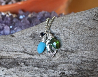 Mermaid Necklace - Mermaid Jewelry from Hawaii - Ocean Inspired Necklace - Hawaiian Jewelry - Hawaii Jewelry by Mermaid Tears - Beach Boho