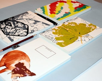 A5 Perfect Bound Notebooks - Assorted